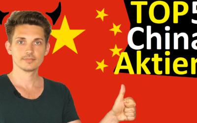 5 beste China-Aktien 2019