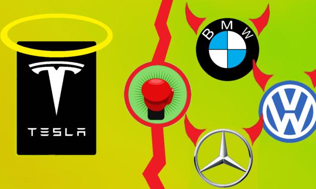 Tesla vs. deutsche Autobauer: Wer gewinnt? (Audi, BMW, Daimler, VW)